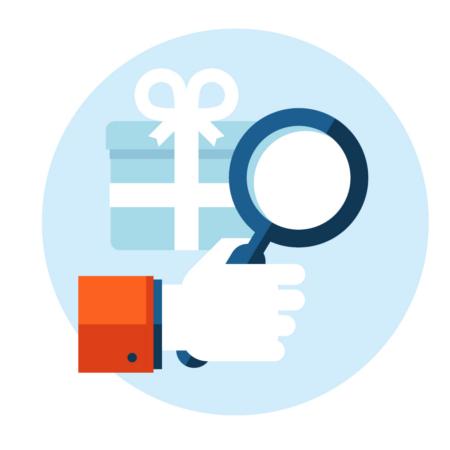 Icono de búsqueda de etiquetas