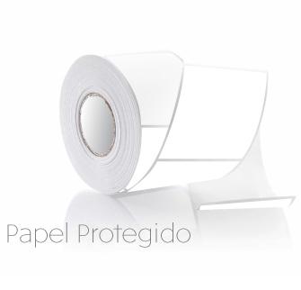 Pegatina 73x74mm anónimas, papel térmico protegido