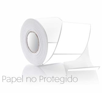 Pegatinas 73x74mm anónimas, papel térmico no protegido