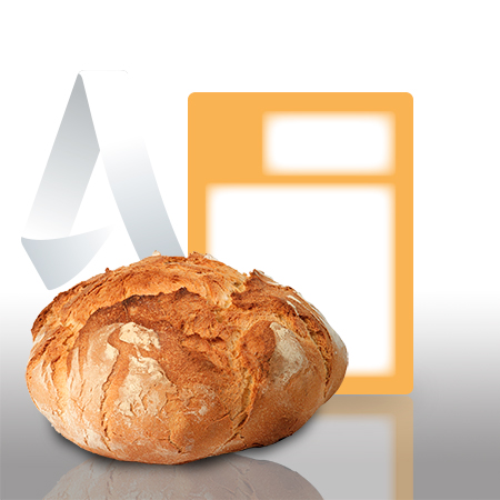 Etiquetas pegatinas sector panaderia de 59x80 mm