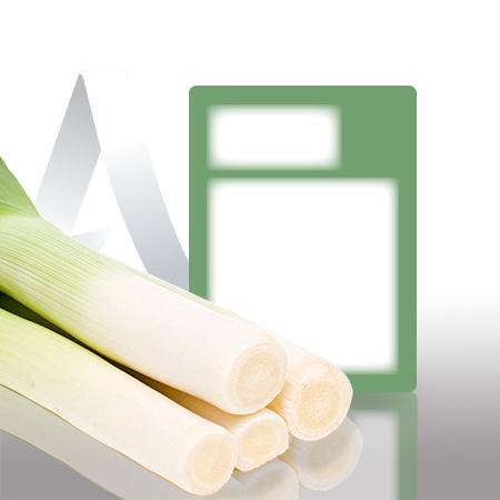Etiquetas pegatinas sector frutas y verduras de 59x80 mm