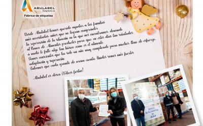 Abulabel dona alimentos a los colectivos más vulnerables