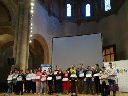 La Fundación Abulense para el Empleo (FUNDABEM), DOWN ÁVILA y Fundación Vodafone España premian a empresas abulenses